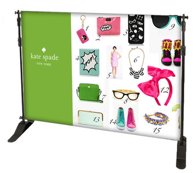 Custom Full Color 10' x 8' Back Drop Kit + FREE GROUND SHIPPING!*