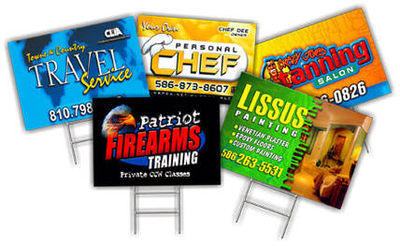 Custom Full Color DOUBLE-SIDED 4mil Coroplast Yard Sign Sheet (You Pick the Cut Size & Qty.) w/ FREE GROUND SHIPPING!