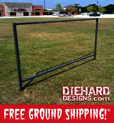 The Best Banner Frame in the World + FREE GROUND SHIPPING!*