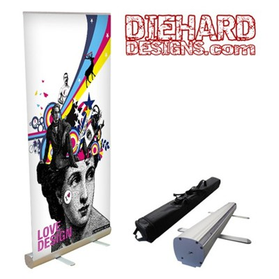 Custom Full Color Retractable Stand-Up Banner Kit (3 Different Sizes!)