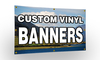 Custom Full Color 18 oz. Vinyl Banner + FREE GROUND SHIPPING!*
