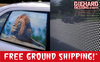Custom Full Color One-Way Perforated Adhesive Window Graphics + FREE GROUND SHIPPING!*