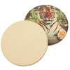 "Custom Full Color Ceramic Coasters (4.25"", 1 Dozen) + FREE GROUND SHIPPING!*"